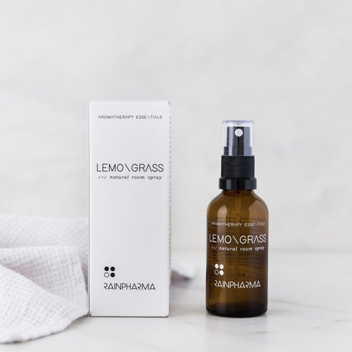 RainPharma Natural Room Spray Lemongrass