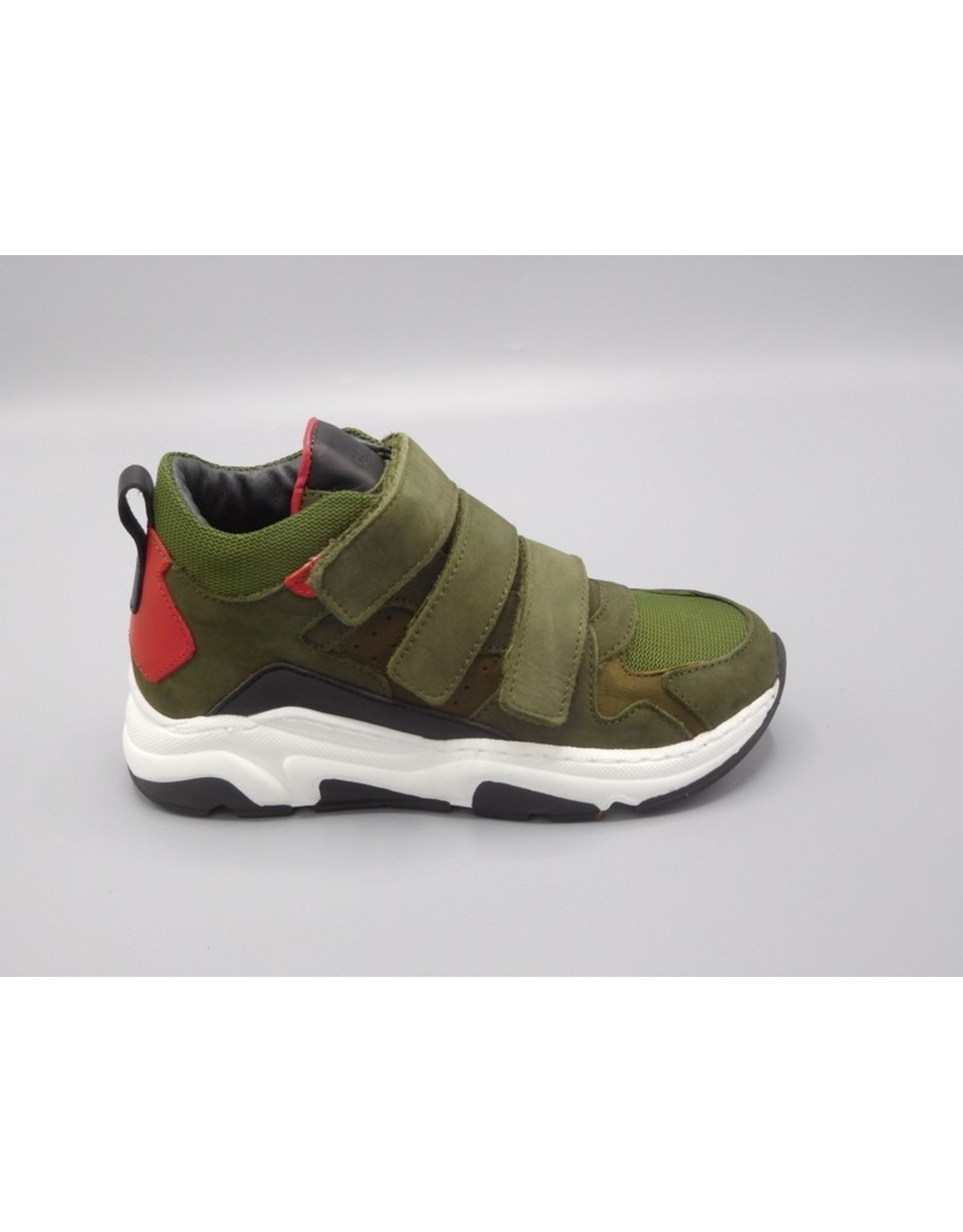 Gattino Gattino - Kinderschoen Sneaker Green Combi