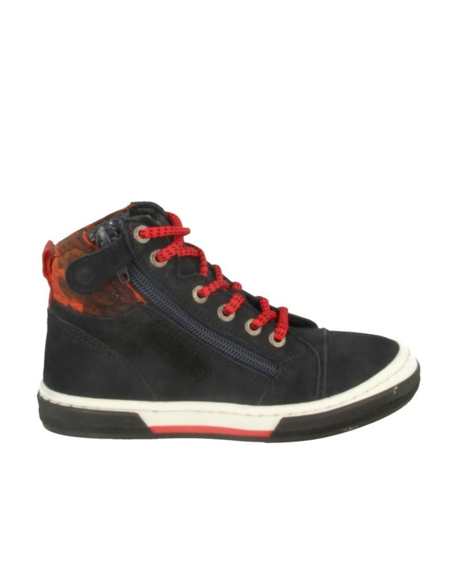 Piedro Piedro - Half hoge schoen donkerblauw