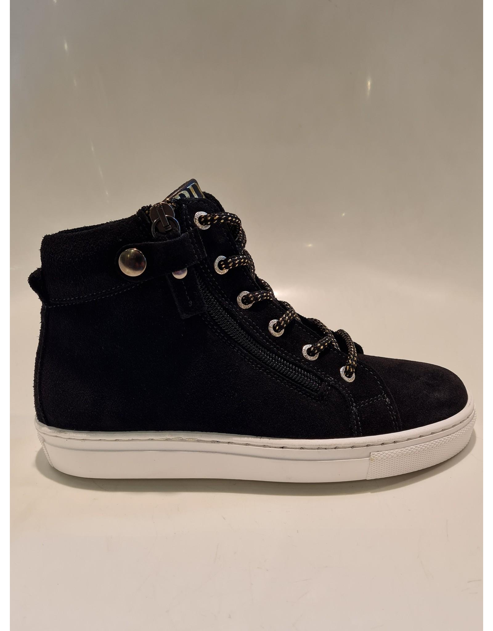 Piedro Piedro - Halfhoge schoen Zwart Suede