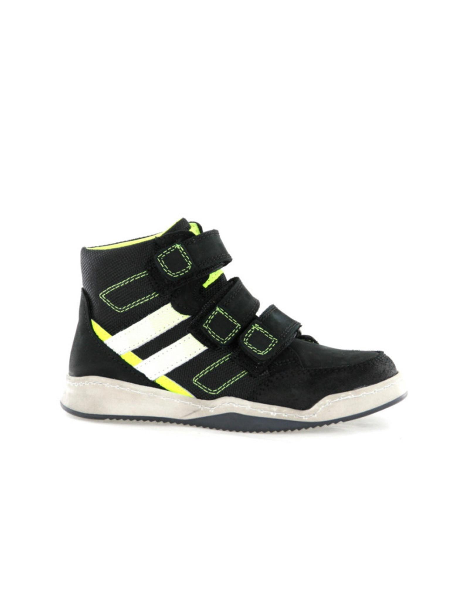 Track - Style Track - Style Hoge Klittebandschoen Zwart