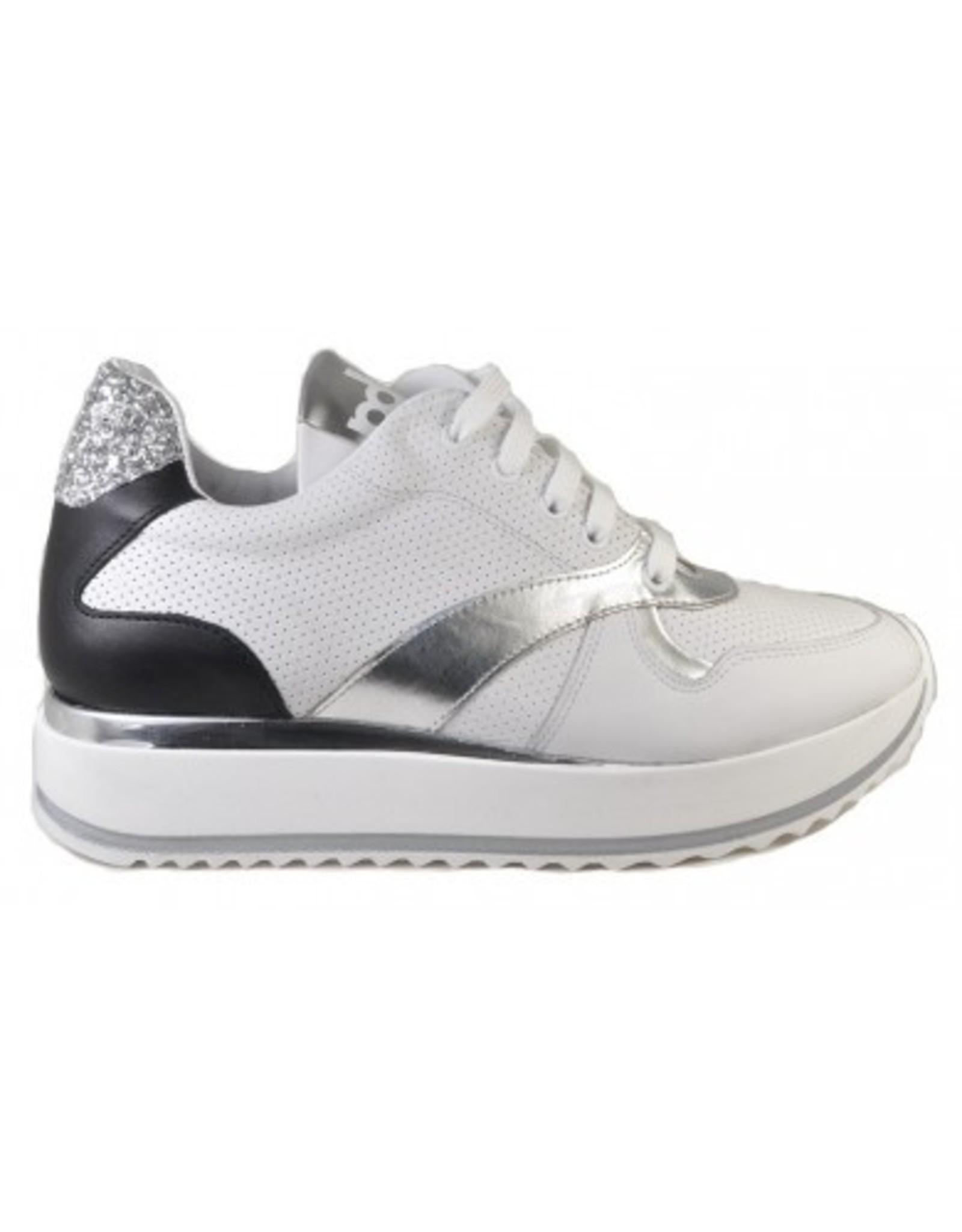 Piedro Piedro - Meisjes Sneaker Zwart/Wit Dikke Zool