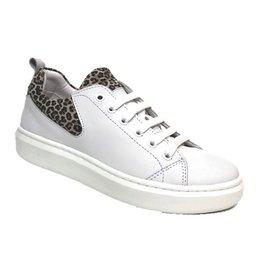 Piedro Piedro - Wit Panter Print Meisjes Sneaker