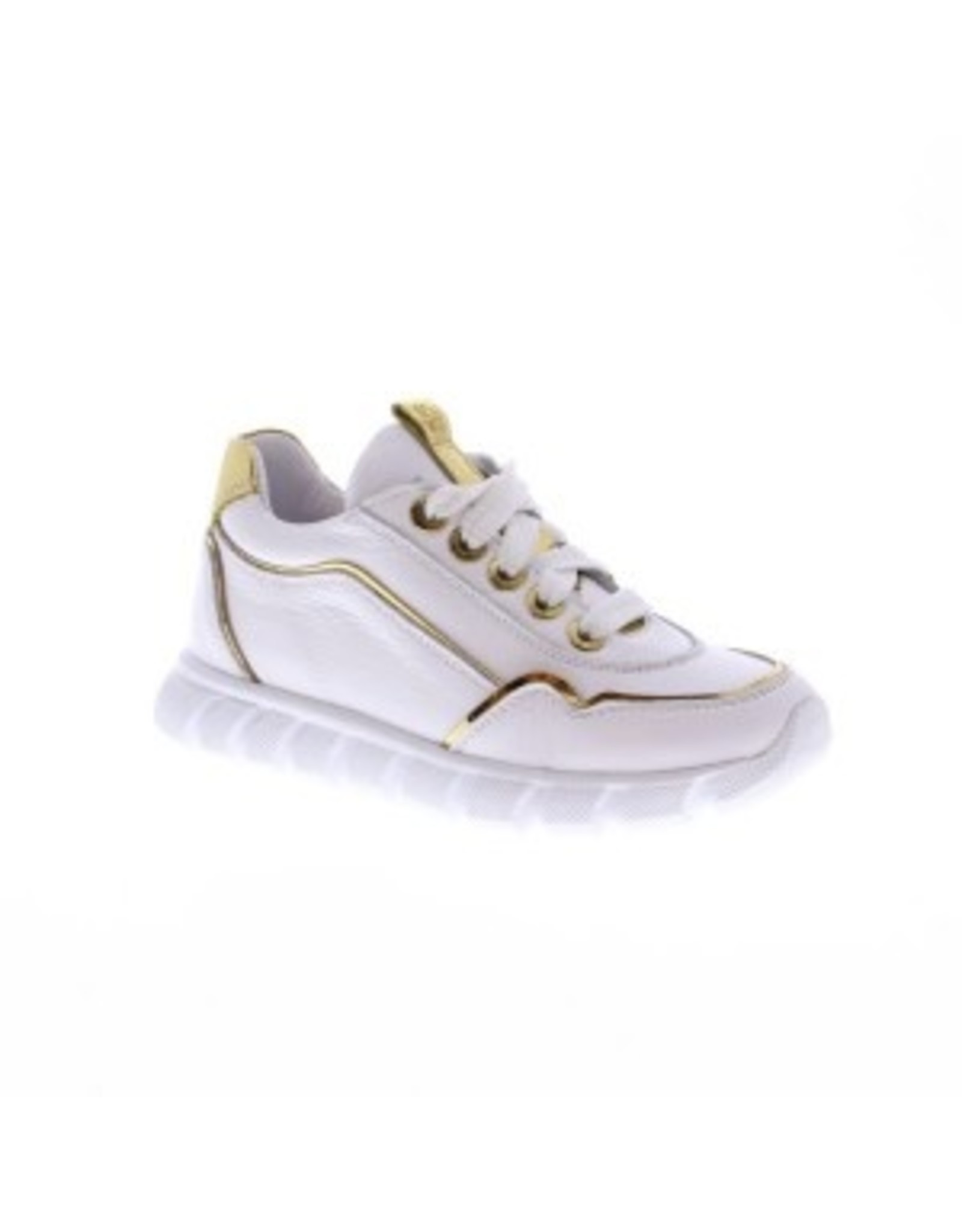Jochie Jochie - Meisjes Sneaker White Gold