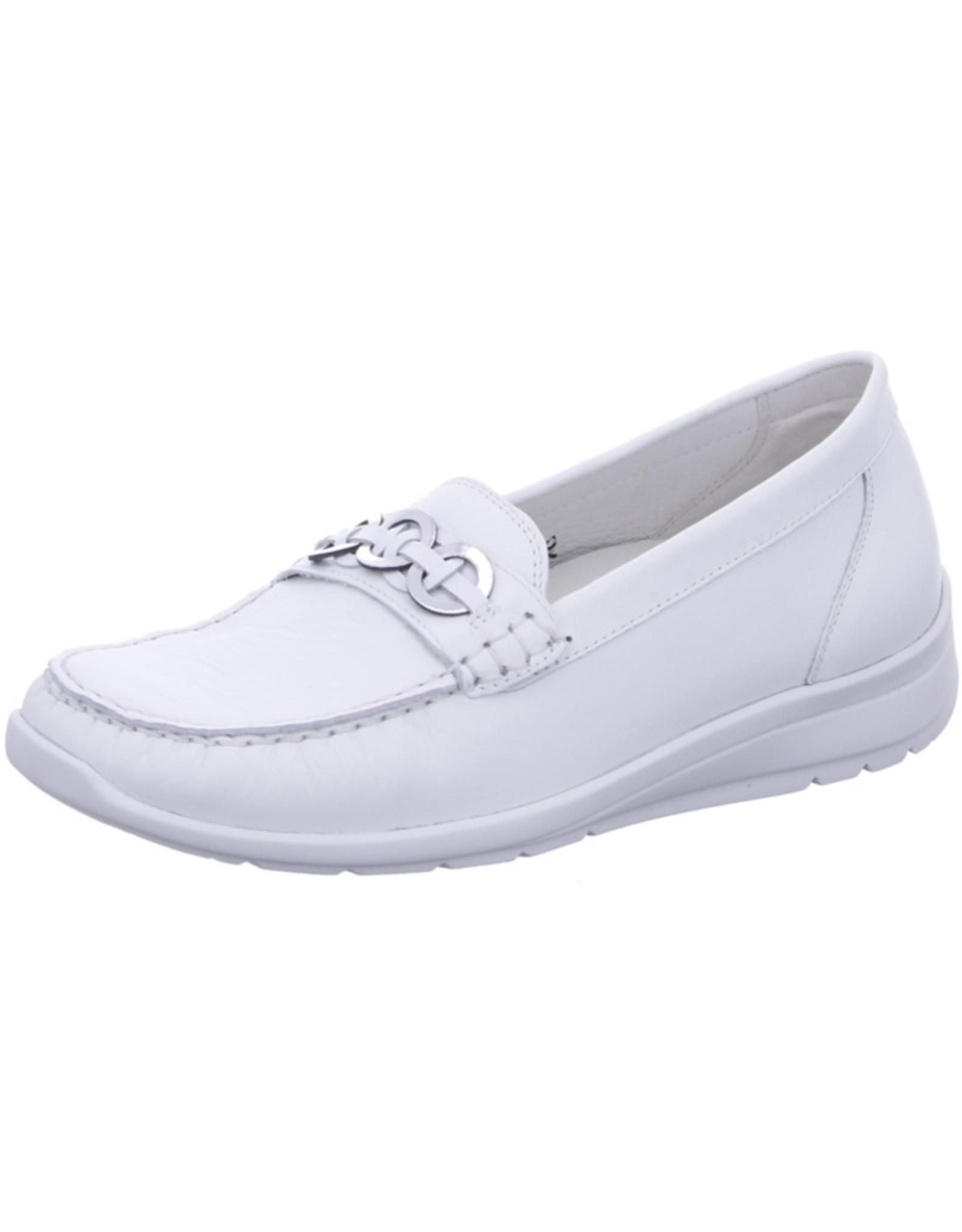 Waldlaufer Waldlaufer - Witte Loafer Dames