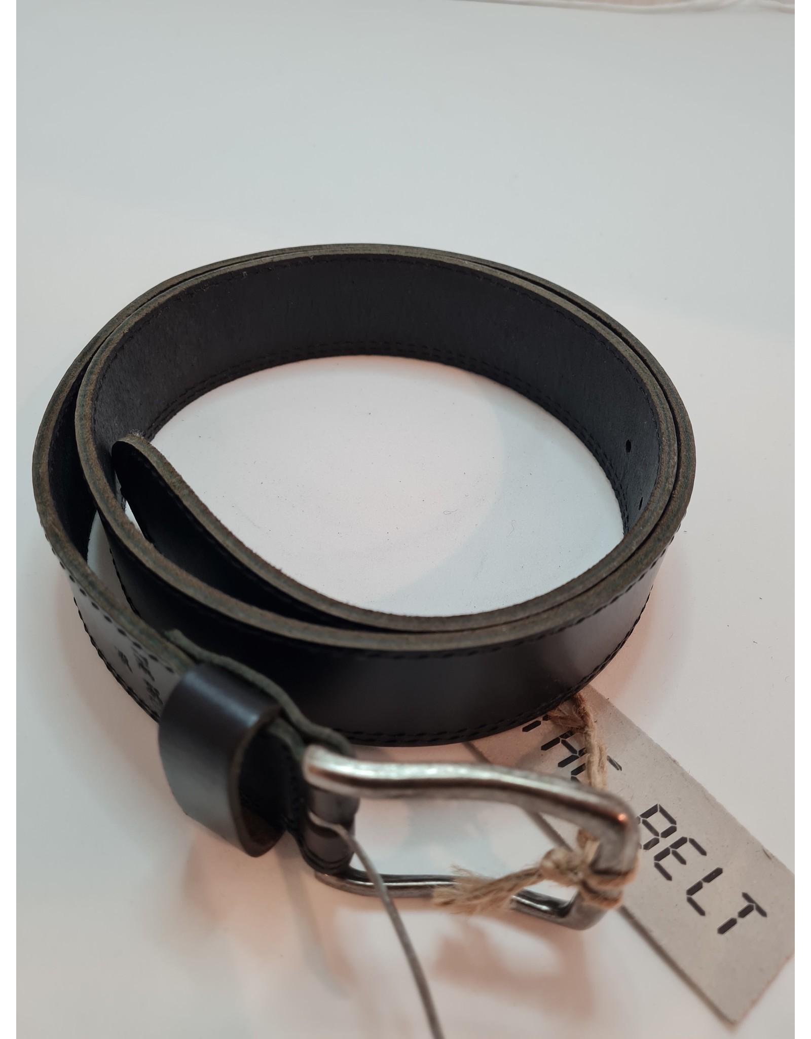 The Belt The Belt - Riem Zwart Glad Leer
