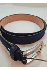 Muller & Sons Muller & Sons - Riem Donkerblauw Suede