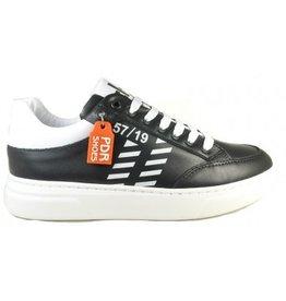 Piedro Piedro - Zwart Witte Jongens Sneaker