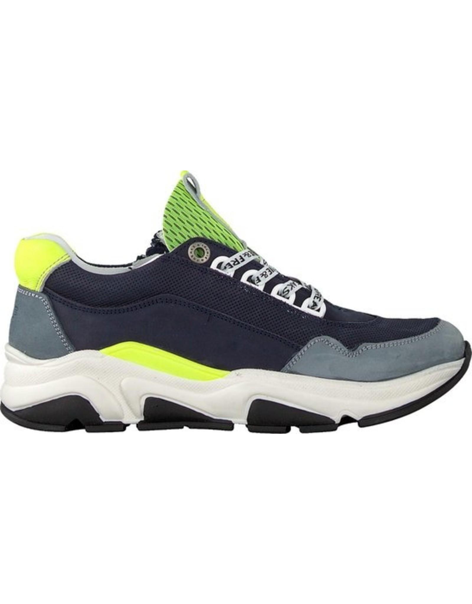 Jochie Jochie - Sneaker Dikke Zool Donkerblauw
