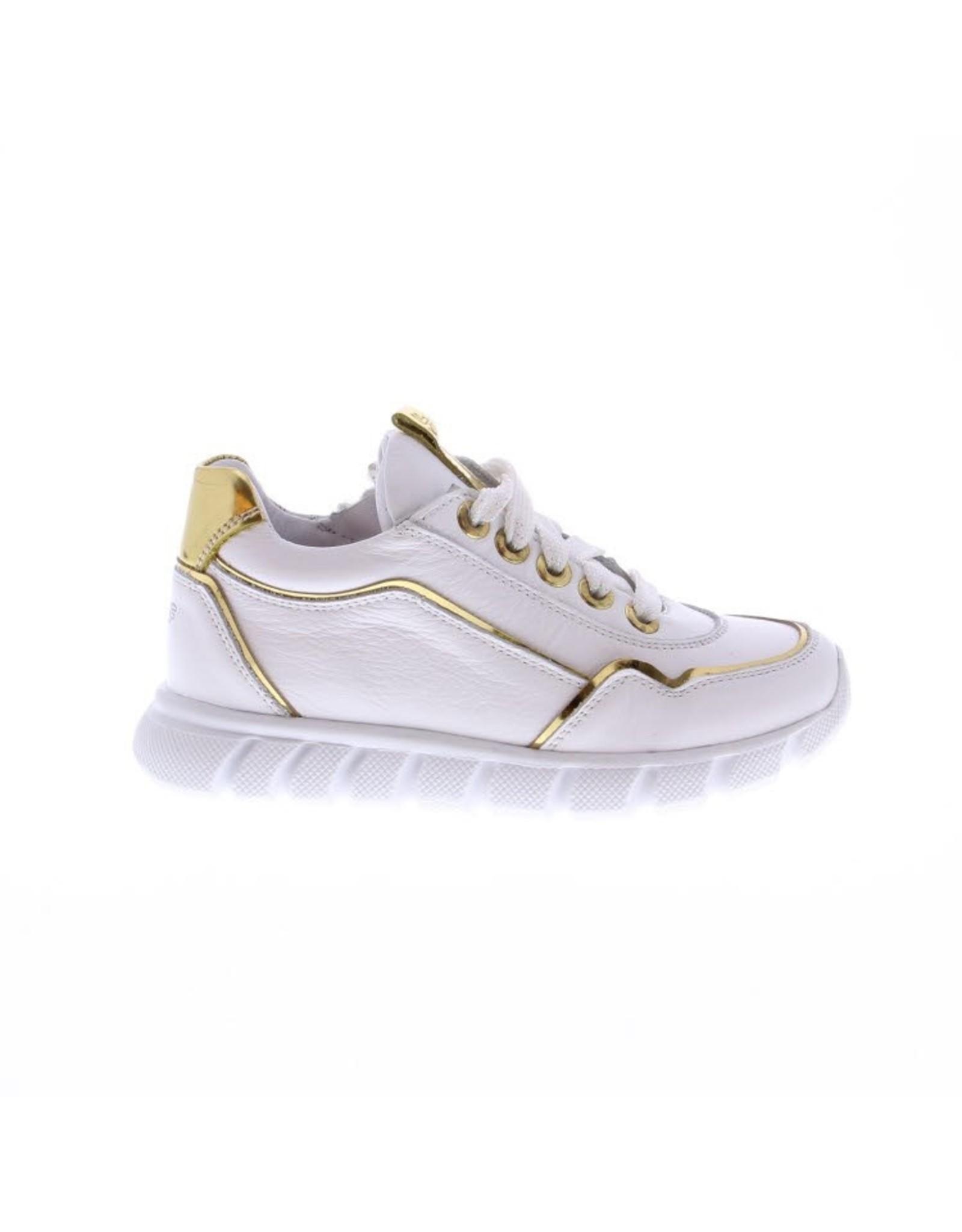 Jochie Jochie - Meisjessneaker White / Gold