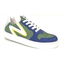 Piedro Piedro - Stoere Jongens Sneaker Kobalt Groen