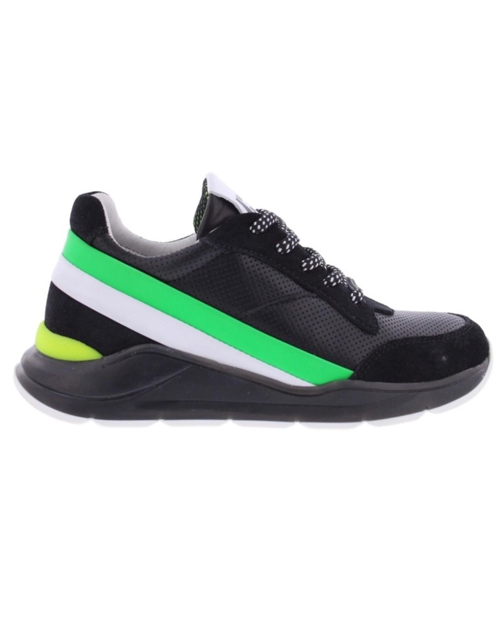 Piedro Piedro - Lage Zwarte Jongens Sneaker