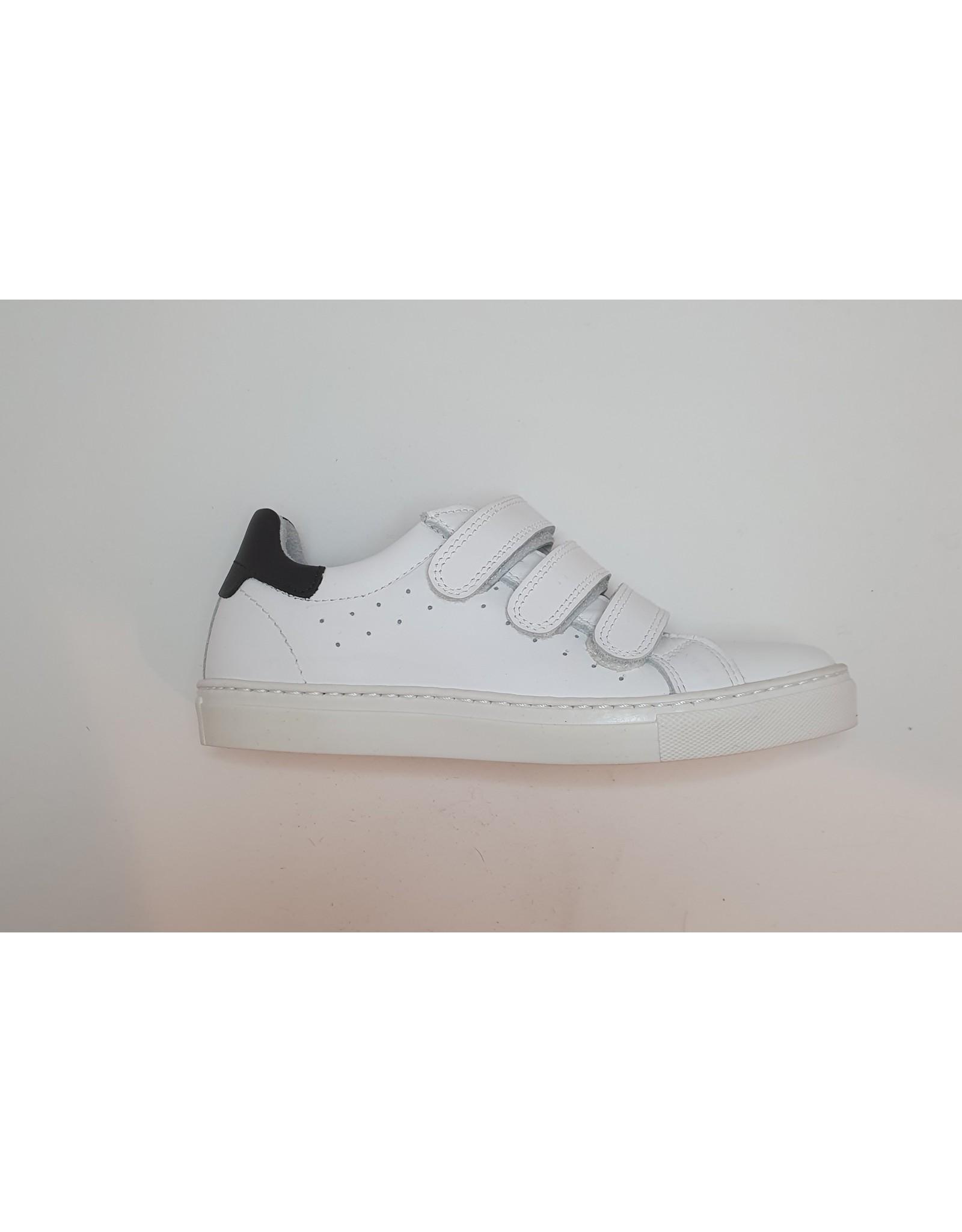 Piedro Piedro - Witte Jongens Sneaker Met Klittenband
