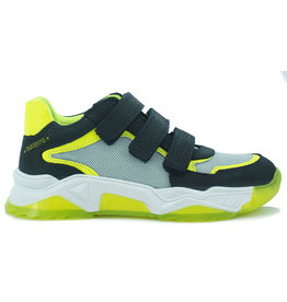 Track - Style Track style - Klitteband schoen Geel/Zwart