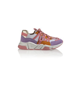 Dwars label Dwars - Sneaker Los Angeles Pink Orange