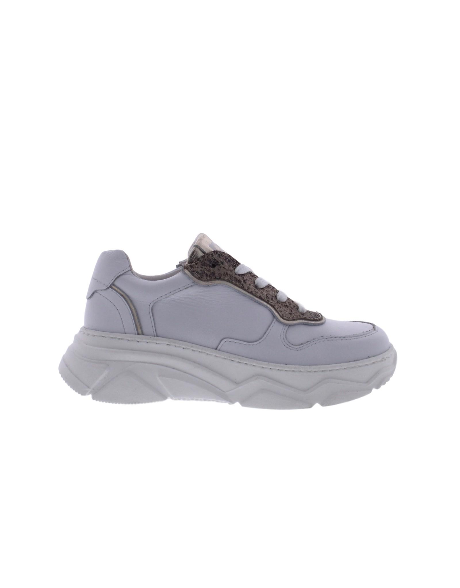 Piedro Piedro - Meisjes Sneaker Wit Print