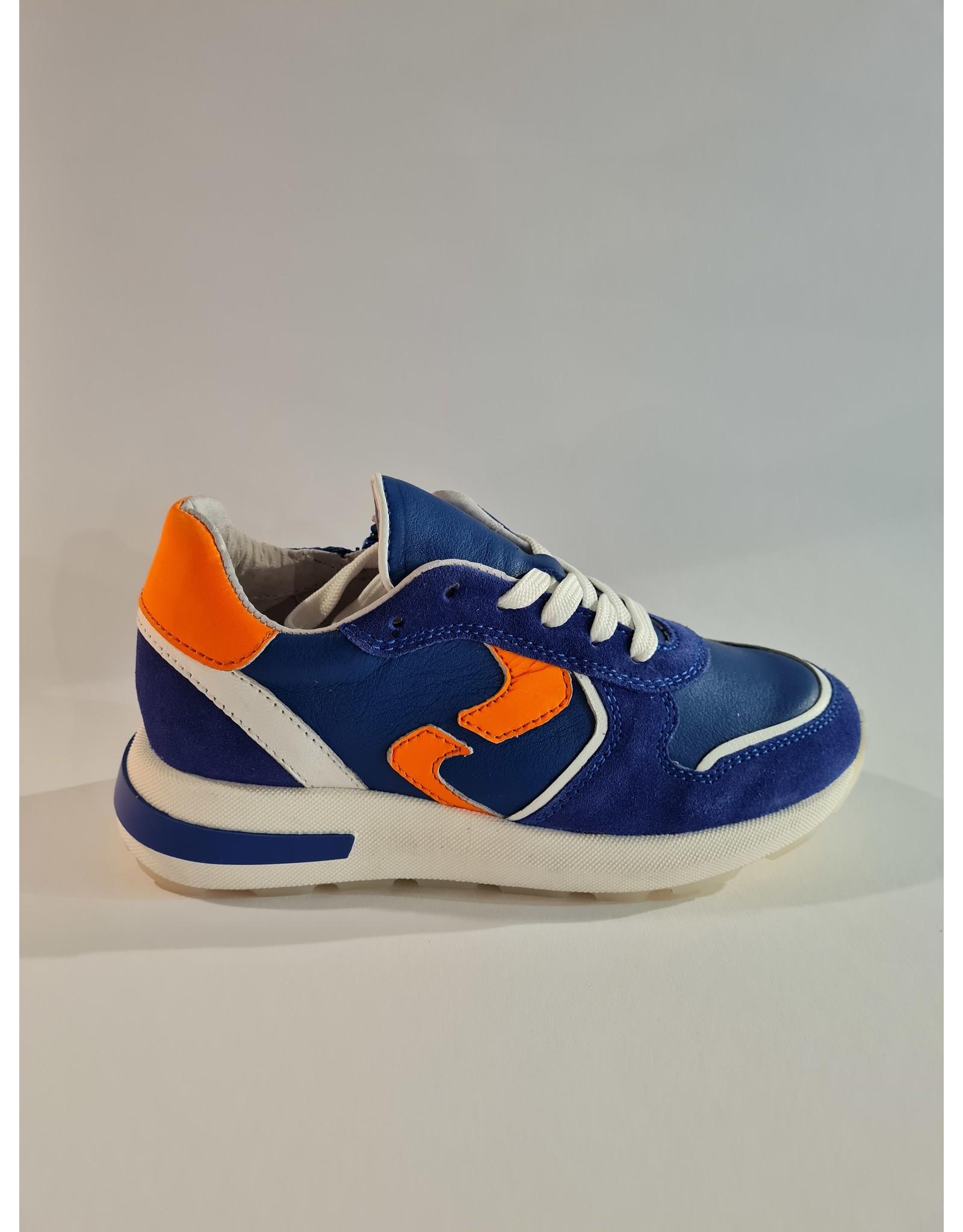 Gattino Gattino - Jongens Sneaker Cobalt Blauw