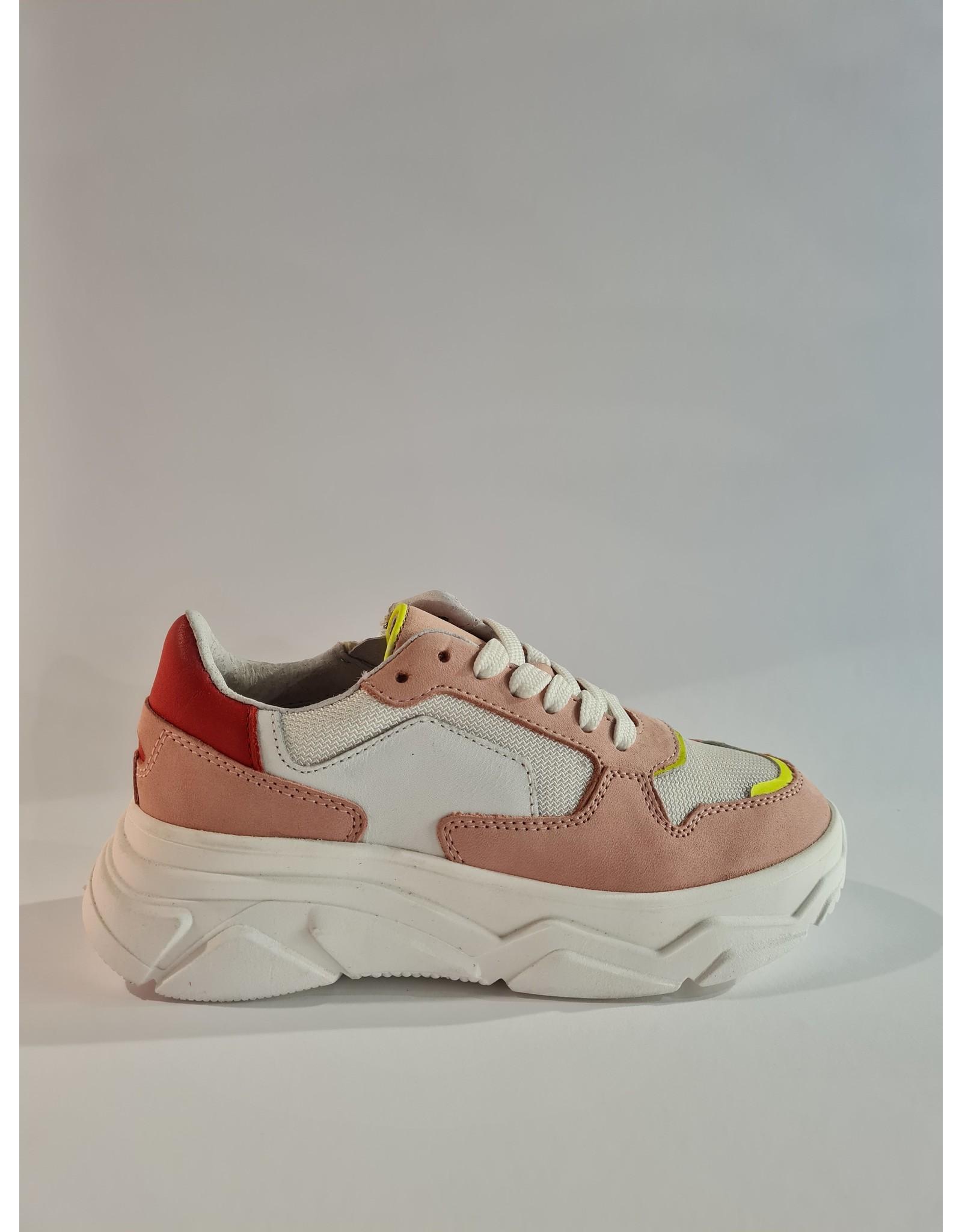 Gattino Gattino - Meisjes Sneaker Roze Wit