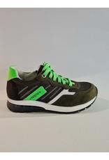 Track - Style Trackstyle - Jongens Veterschoen Zwart Groen