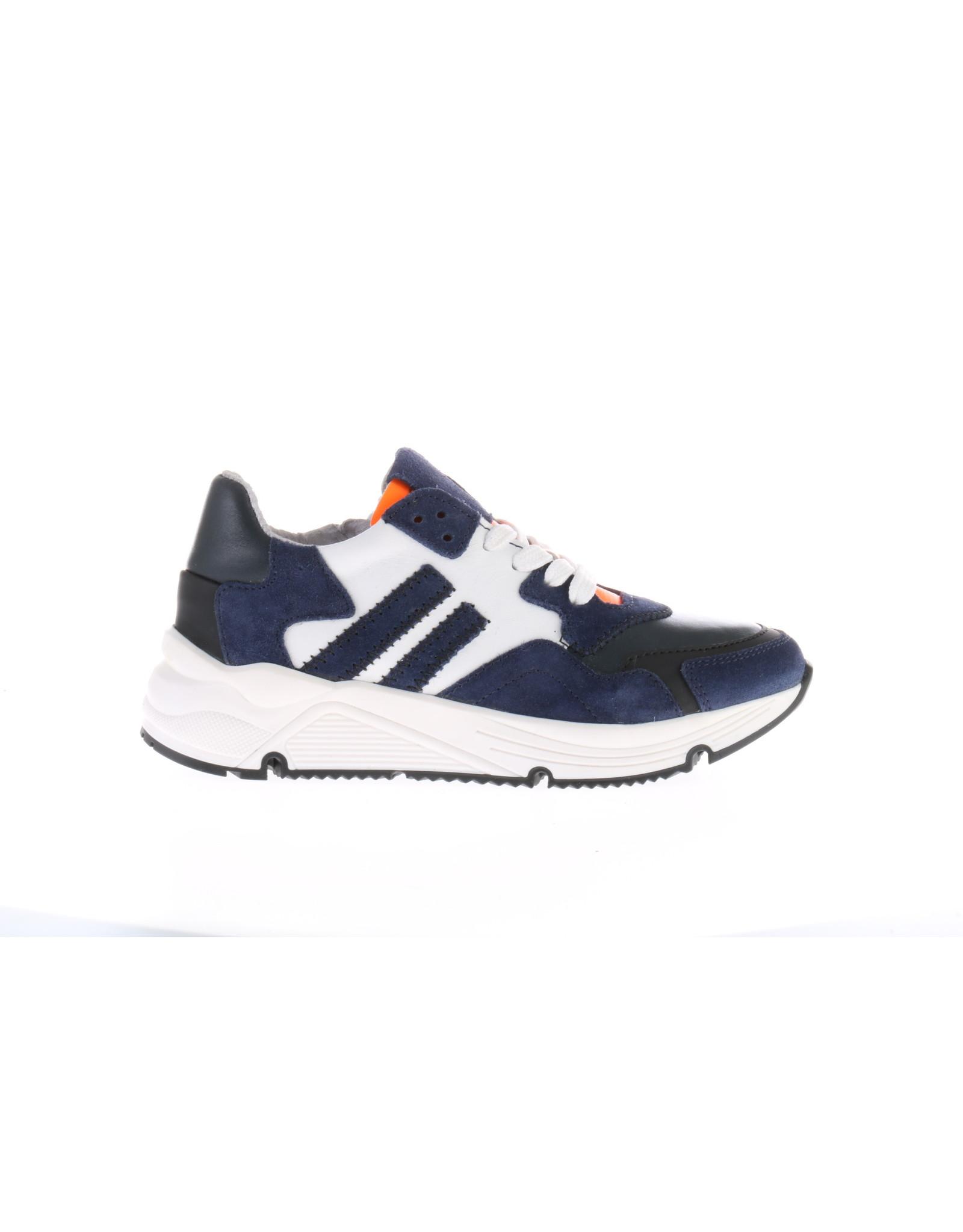 Gattino Gattino- Sportieve Jongens Sneaker Donkerblauw