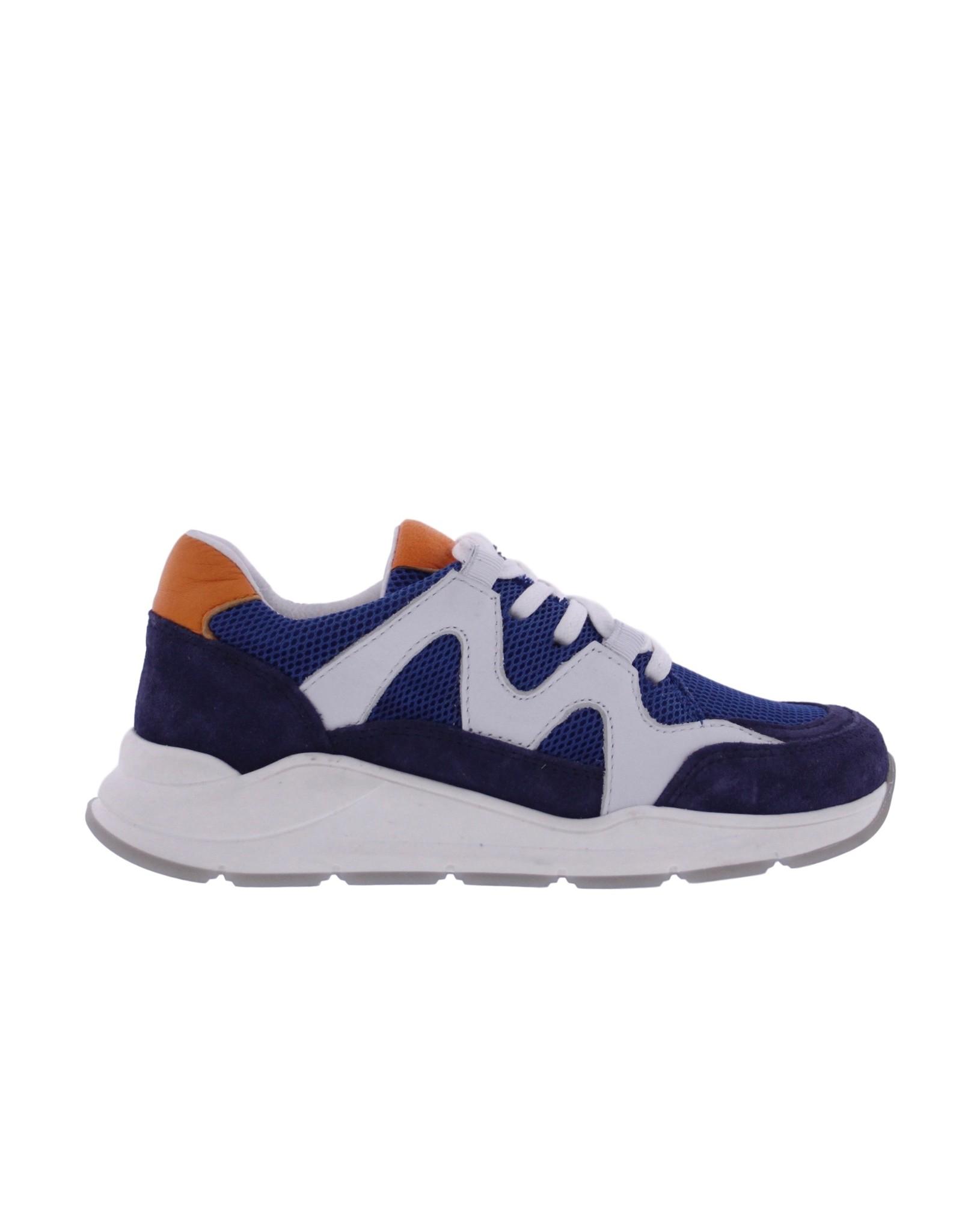 Piedro Piedro - Jongens Sneaker Blauw Combi