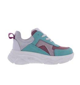 Piedro Piedro - Meisjes Sneaker Turqoise combi