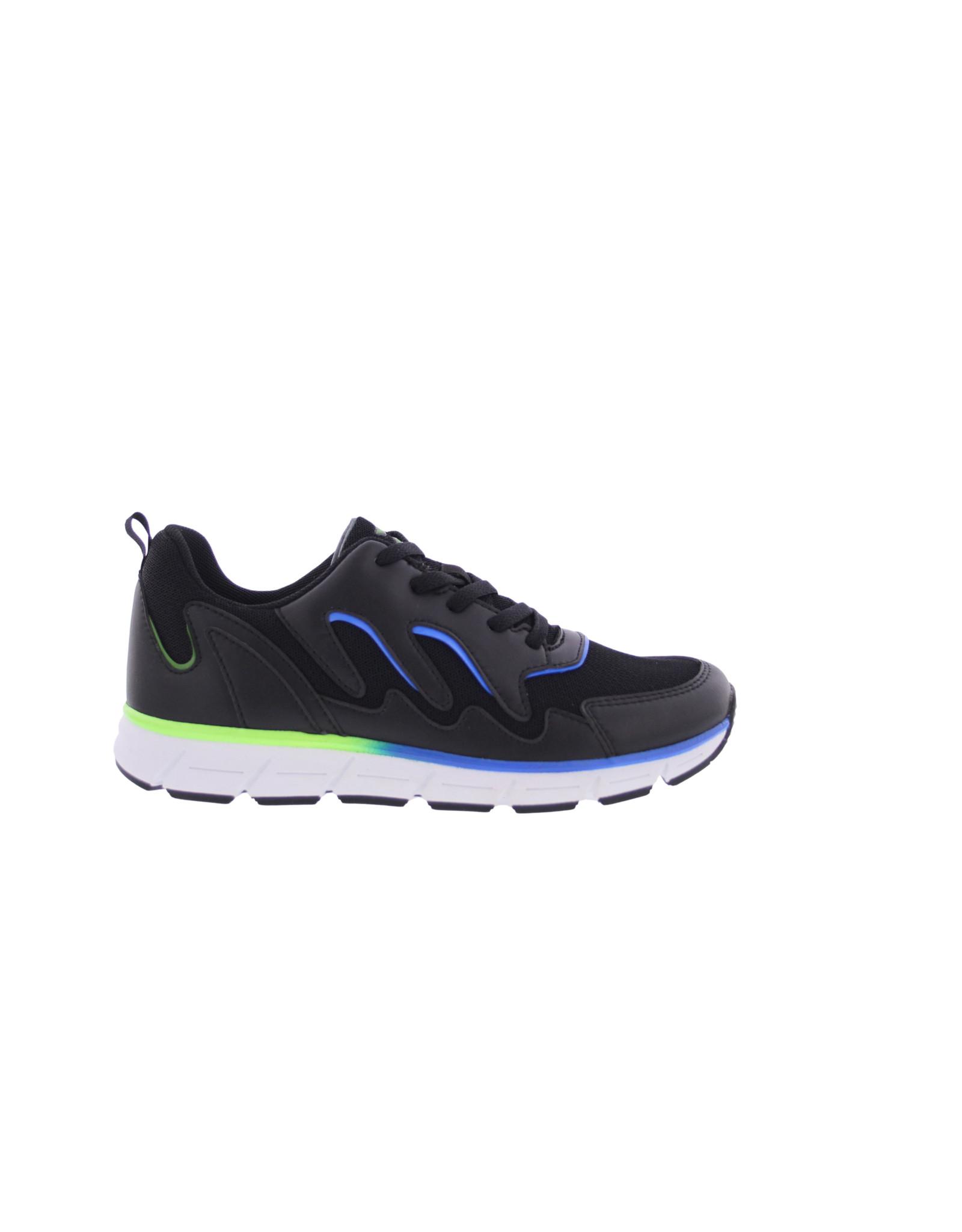Piedro Piedro-Sport-Zwart/Cobalt