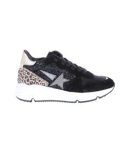 Gattino Gattino-Sneaker-Zwart-Combi