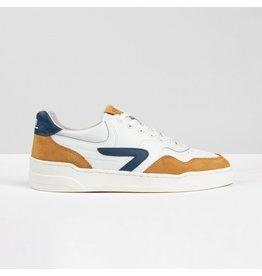 HUB Hub-Sneakers-Court-Z-Blue/Camel/ivory