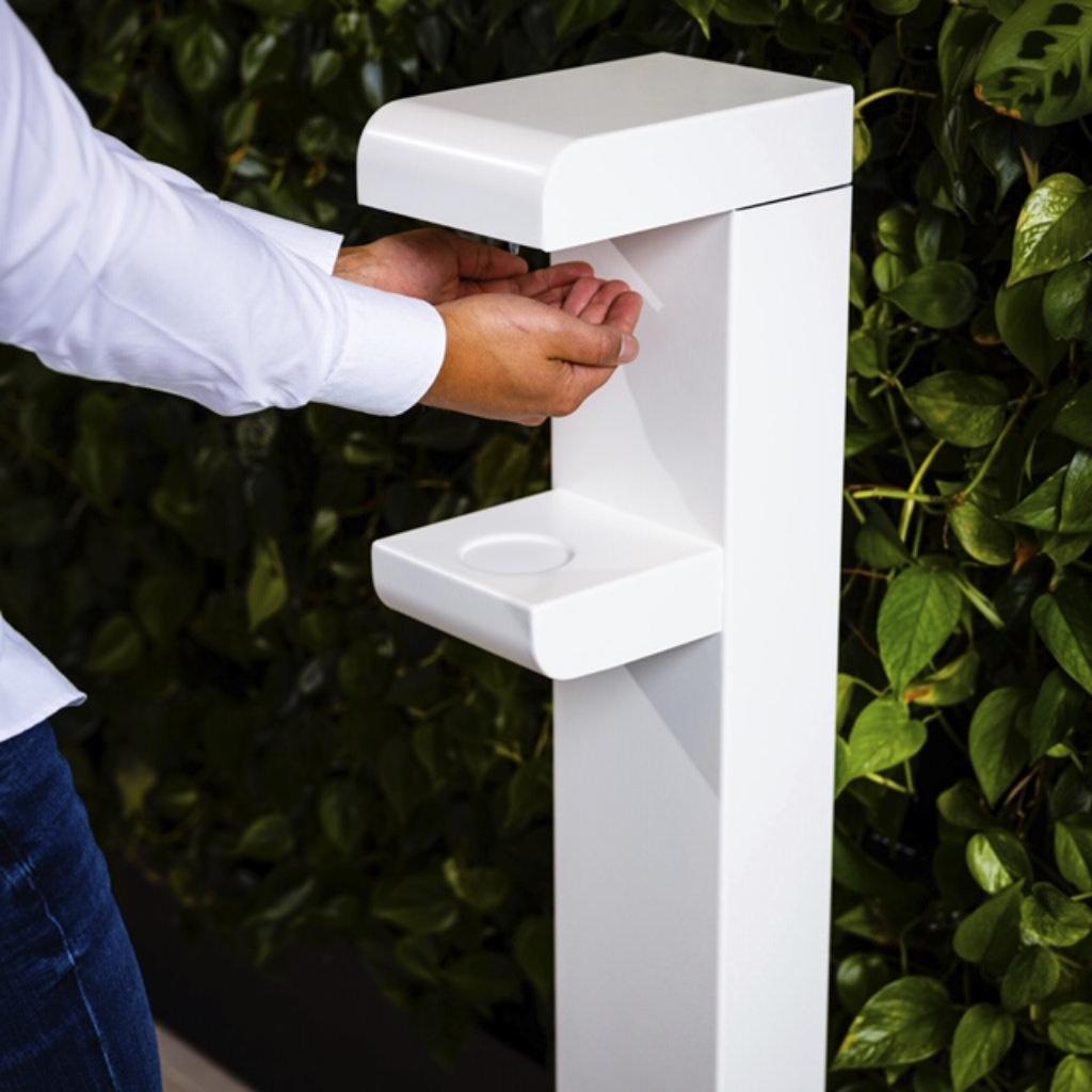 Luxe handsfree dispenser met voetbediening