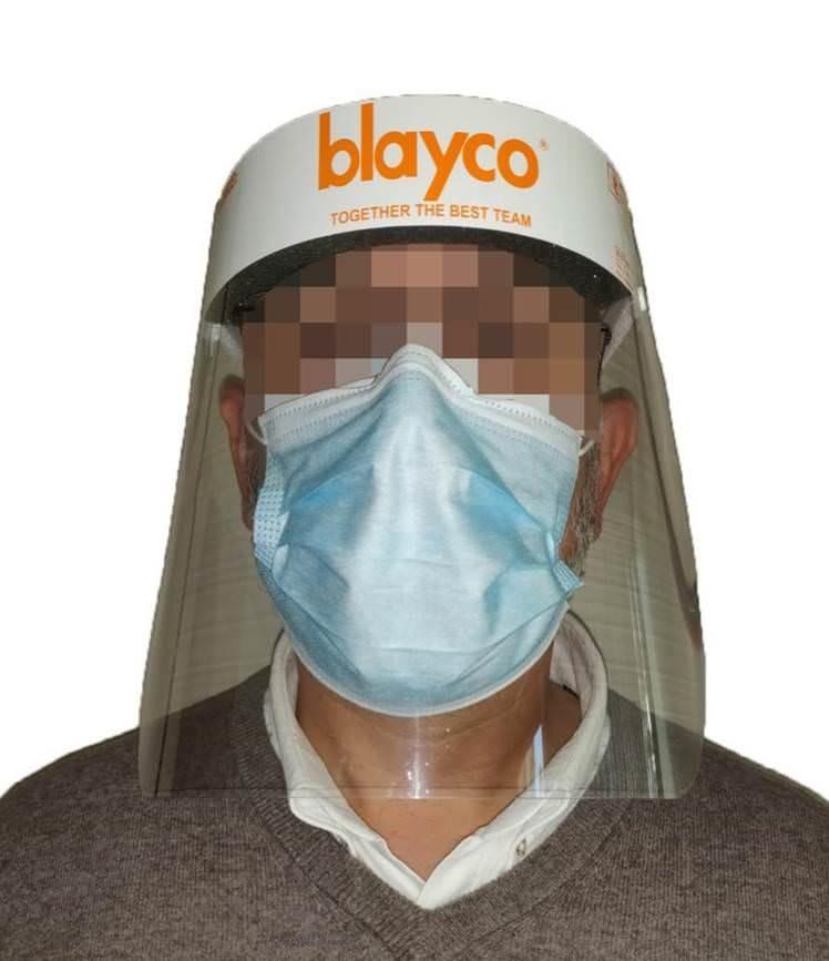 Blayco face shield / gezichtsbeschermers doos (50 stuks)