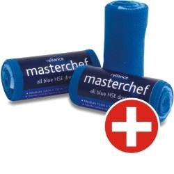 MasterChef Snelverband gerold blauw - 12 x 12 cm