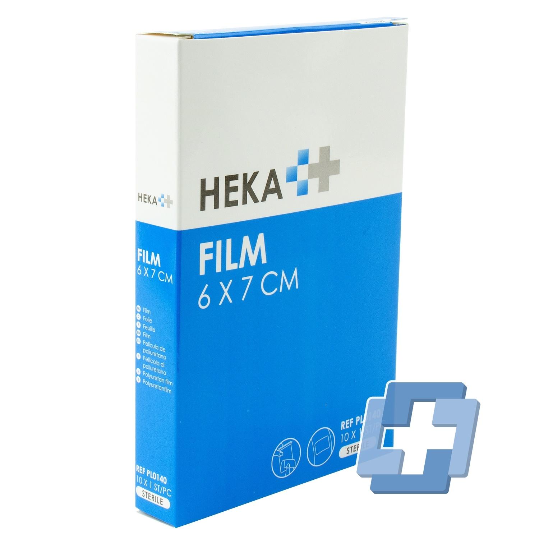 HEKA Film steriel - 6 x 7 cm (10 stuks)