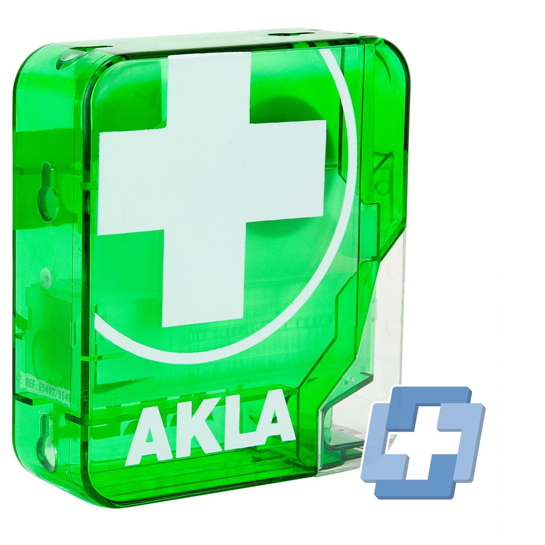 AKLA Pleisterdispenser square / blauw detecteerbaar HACCP