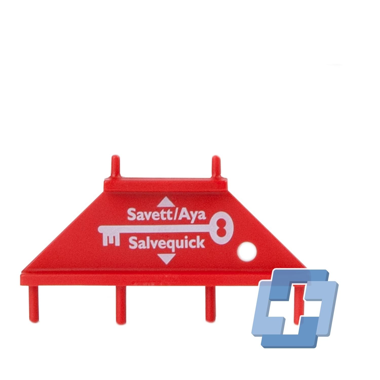 Salvequick Pleisterdispenser blauw detecteerbaar HACCP