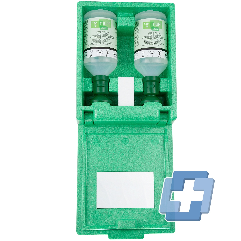 Plum Stofdichte wandbox incl. 2 flessen oogspoeling - 500 ml