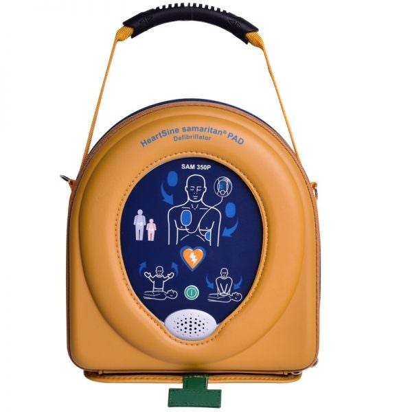 HeartSine Samaritan Pad 350P incl. softcase en 1x pad-pak