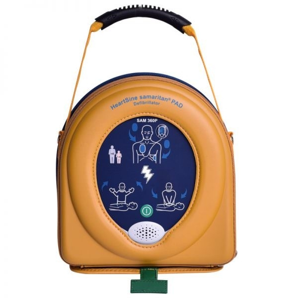 HeartSine Samaritan Pad 360P incl. softcase en 1x pad-pak