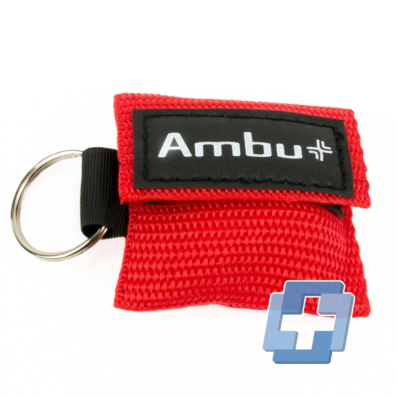 Ambu LifeKey sleutelhanger rood