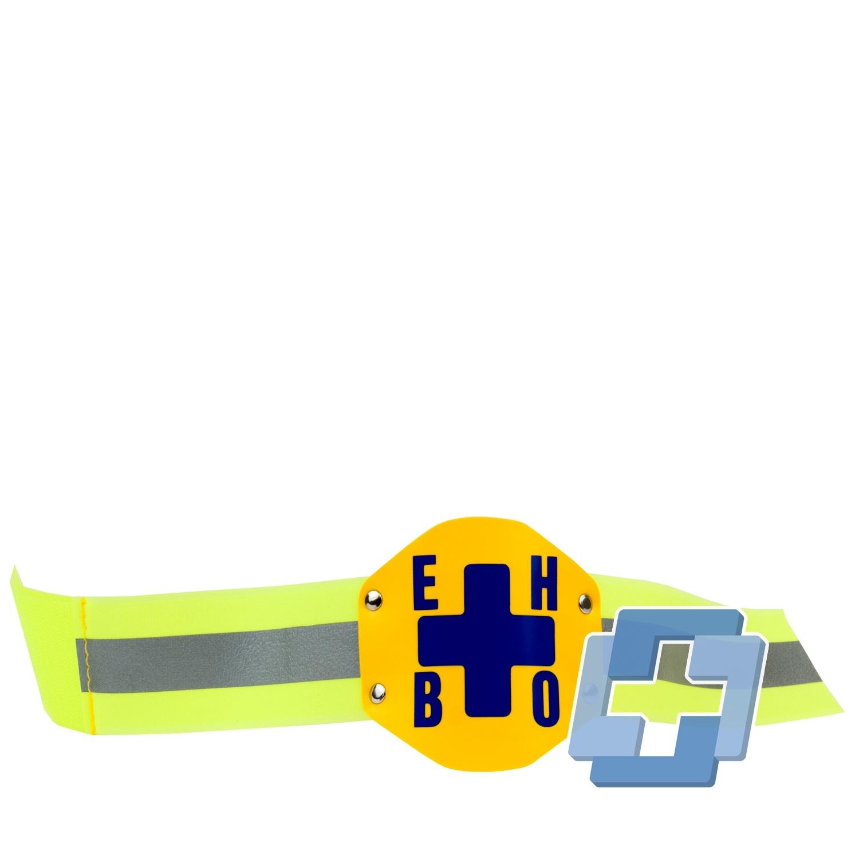 Reflecterende armband met schild EHBO
