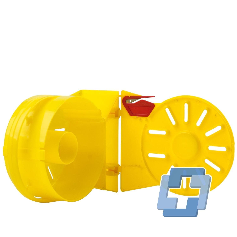 EVAC Plastic tape dispenser voor afzetlint