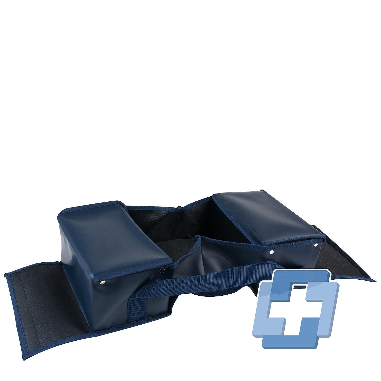 EHBO verbandtas blauw zonder opdruk