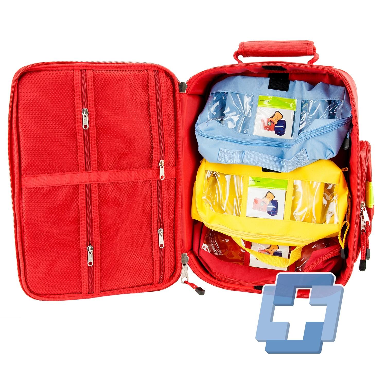 Medicall EHBO rugtas traveller mk3 rood nieuwe versie