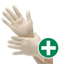 HEKA Set vinyl eerste hulp handschoenen L (25 stuks)