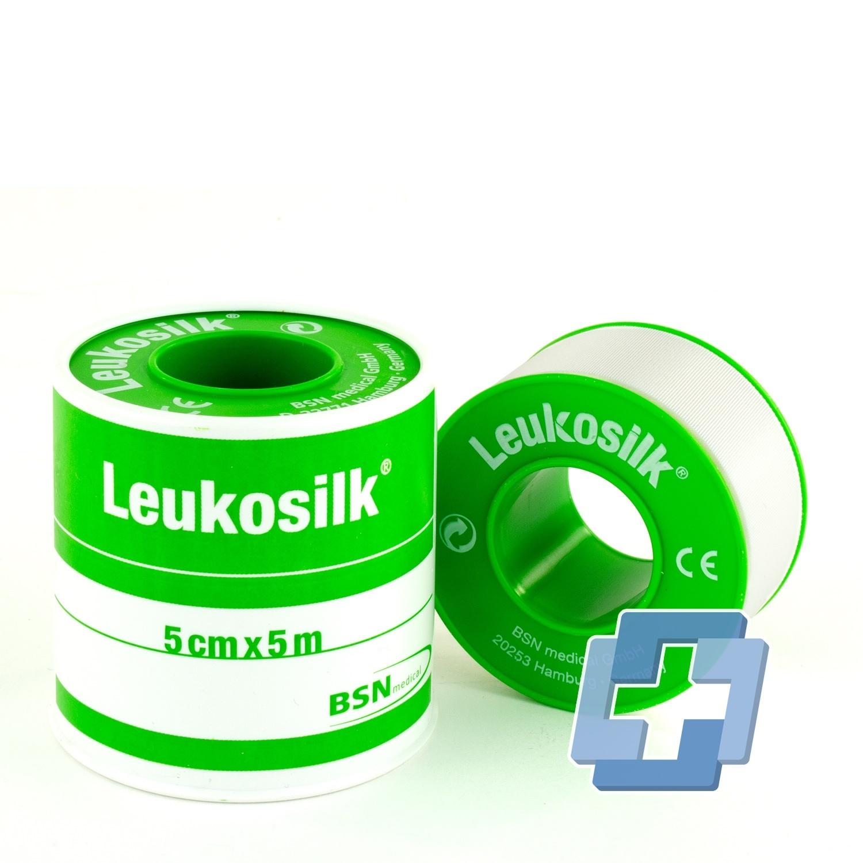 LeukoSILK hechtpleister - diverse maten (doos)