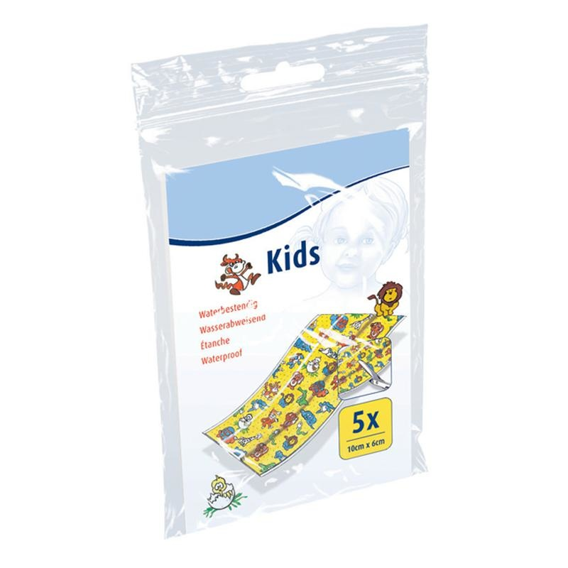 Kinderwondpleister - 10 x 6 cm (5 stuks)