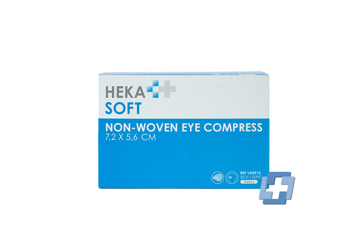 HEKA oogkompres - 7,2 x 5,6 cm (35 stuks)