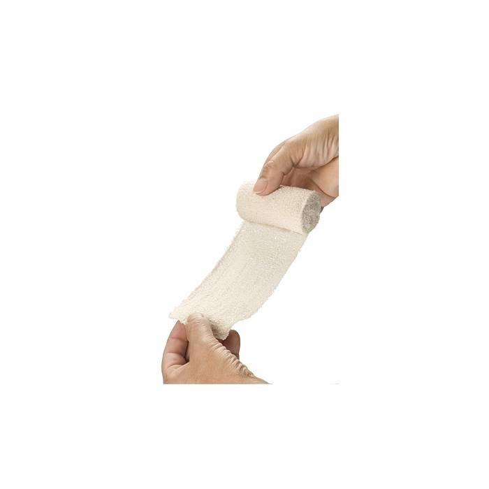 HEKA Elastisch fixatiewindsel crêpe - 4 m x 10 cm (10 stuks)