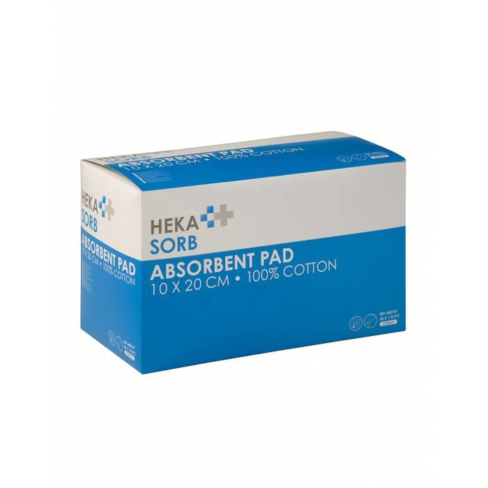 HEKA Sorb steriel - 10 cm x 20 cm (30 stuks)