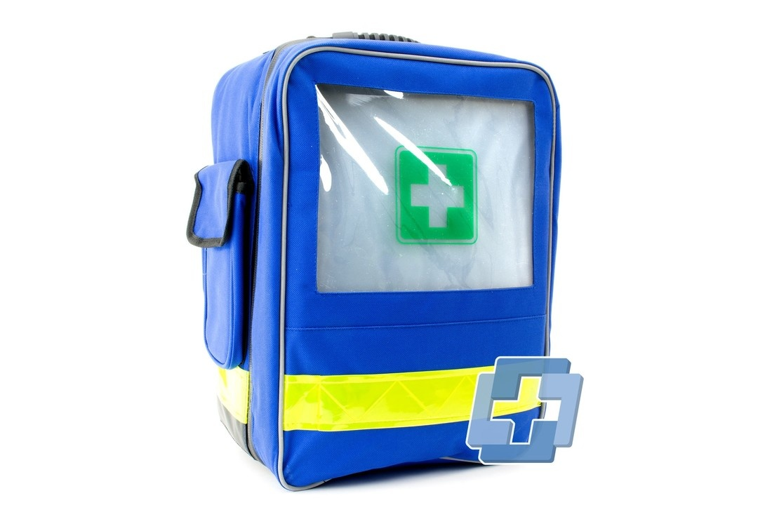 HEKA EHBO rugtas blauw inclusief complete navulling